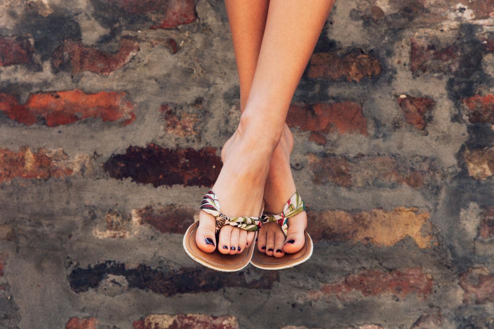 Das sind die Fuß-No-Gos in der Sandalen-Saison