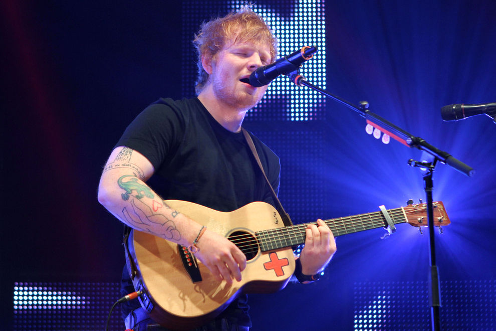 Nach Rita Ora überrascht jetzt auch Ed Sheeran