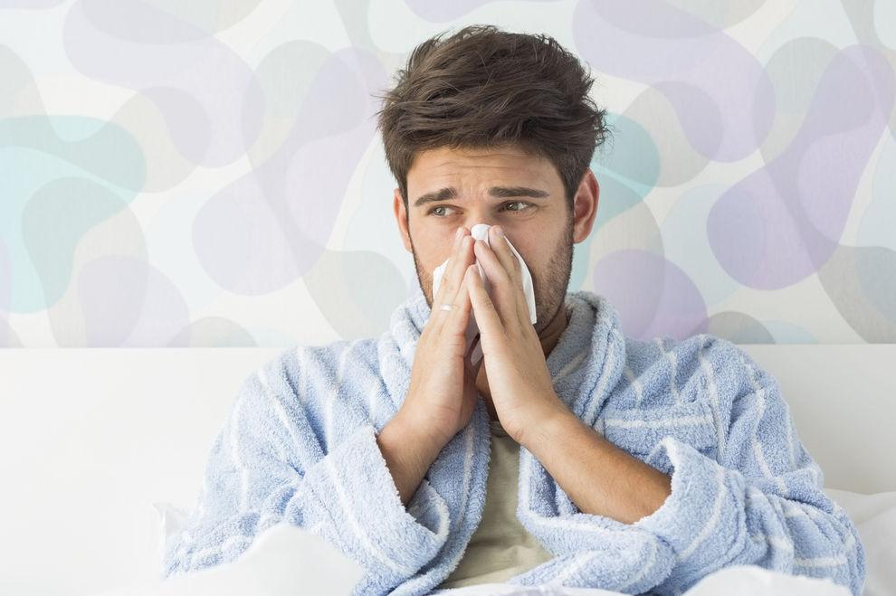 Männer leiden wirklich mehr, wenn sie krank sind
