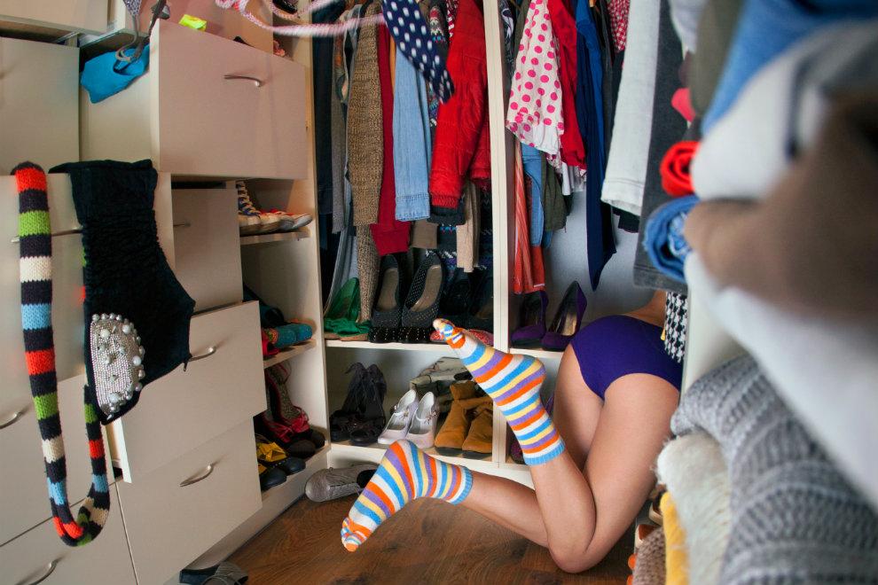 7 Tipps gegen einen überfüllten Kleiderschrank