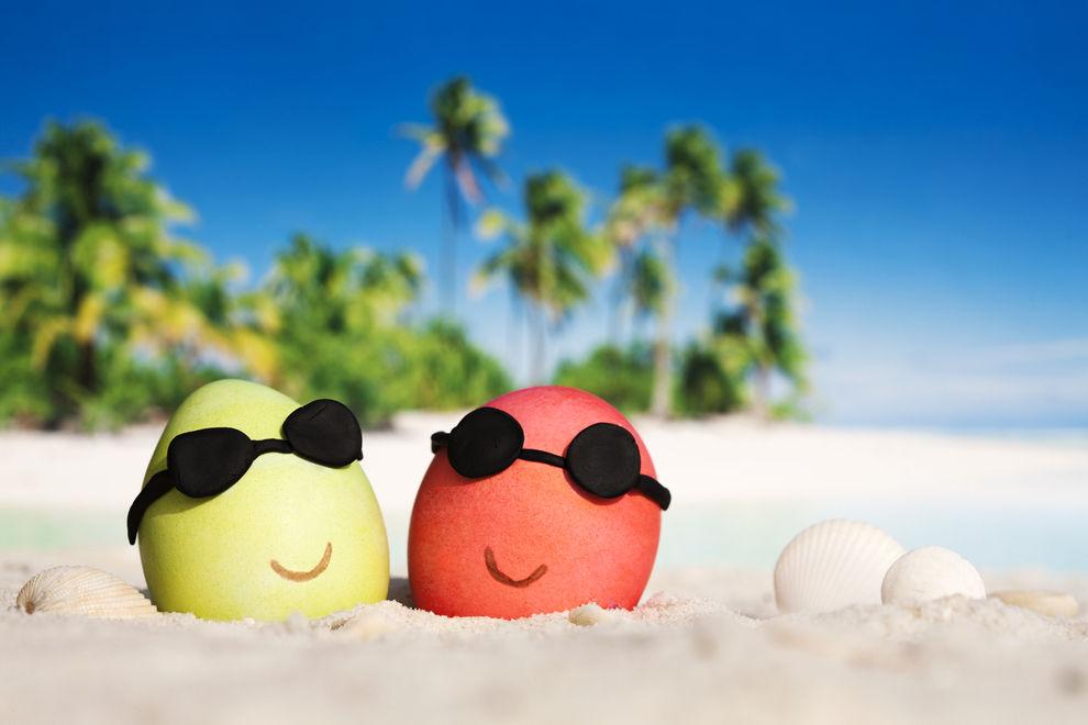 Sommerliche Temperaturen zu Ostern