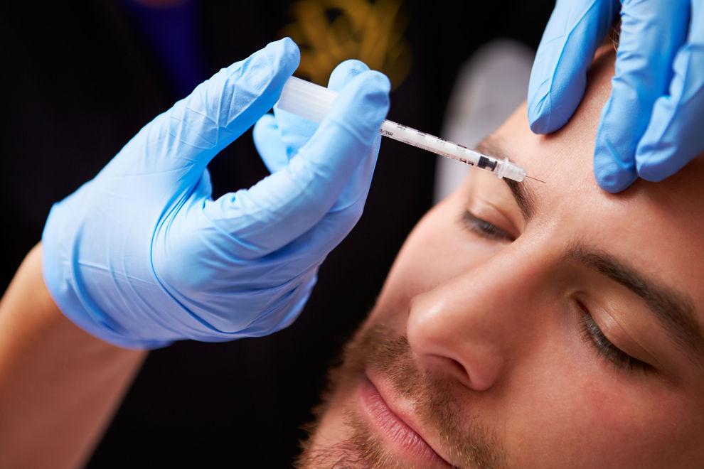 Auch Männer schwören auf Botox