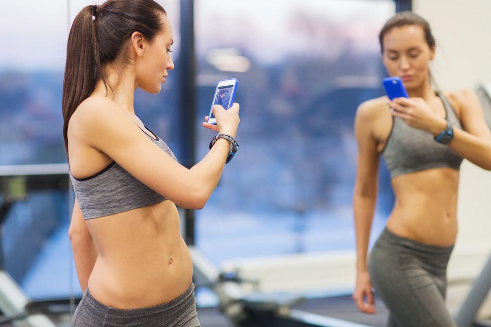Leute, die Fitness-Aktivitäten posten, haben oft psychische Probleme