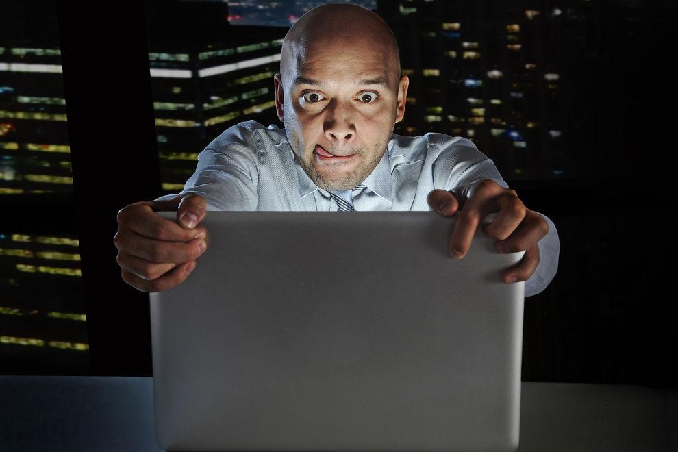 40 Prozent deiner Kollegen masturbieren während der Arbeit