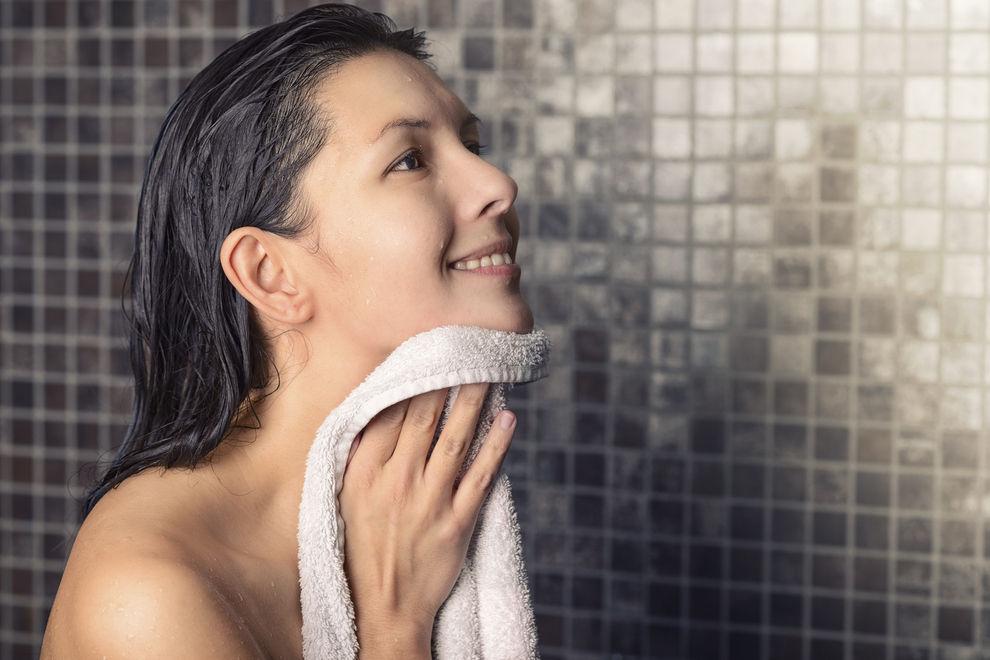 Gleiches Handtuch für Gesicht und Körper? Bloß nicht!