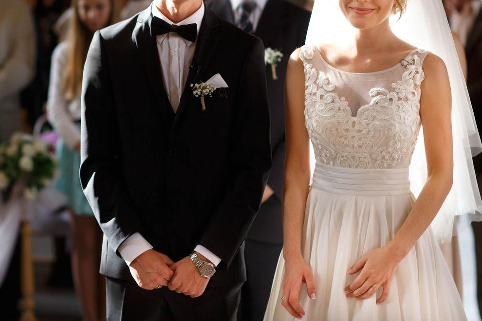 Was diese Braut während der Trauung macht, ist unglaublich