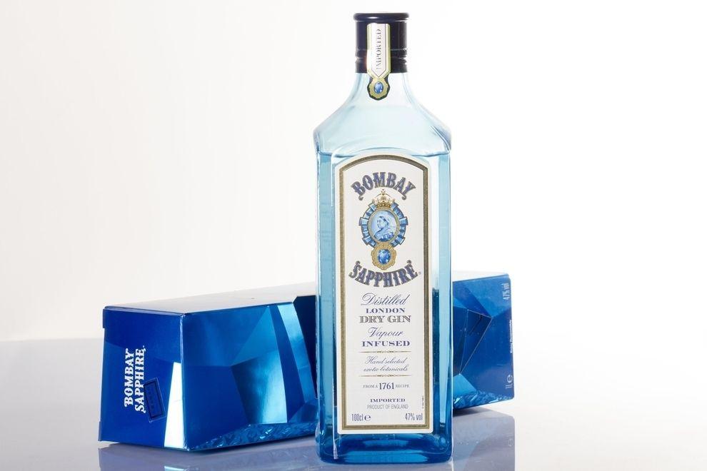 Verkaufsstop für Bombay Sapphire-Gin