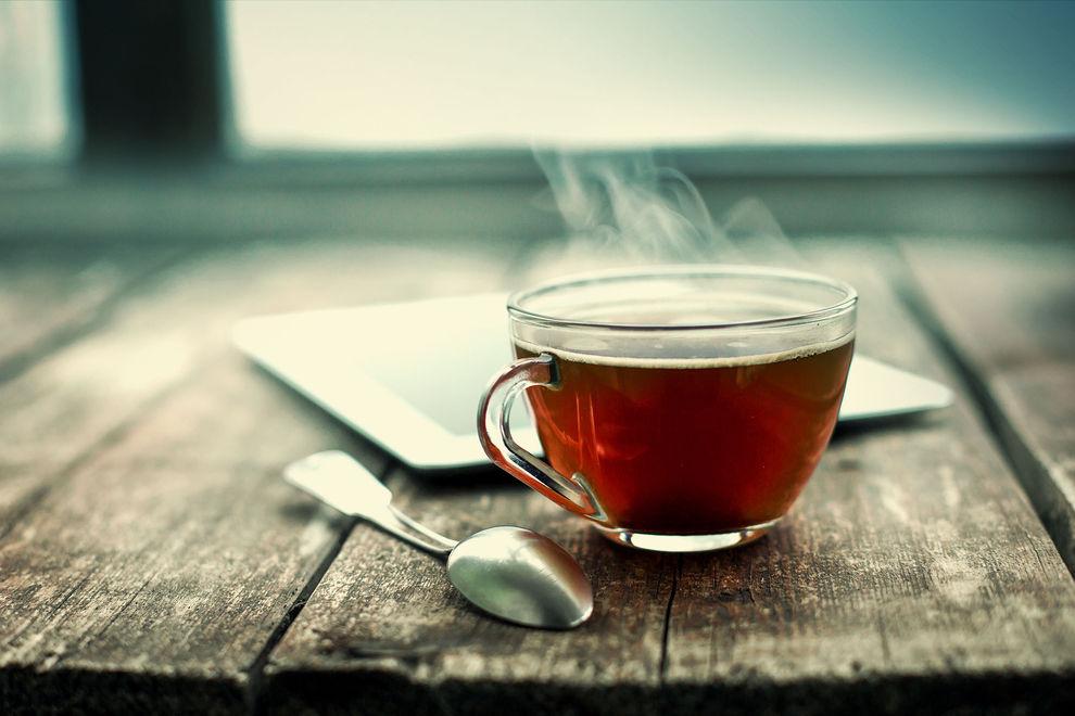 Mikrowellen-Tee ist gesünder als normal gekochter