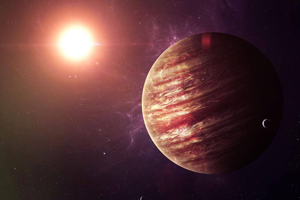 Heute Nacht kannst du mit bloßem Auge den Jupiter sehen