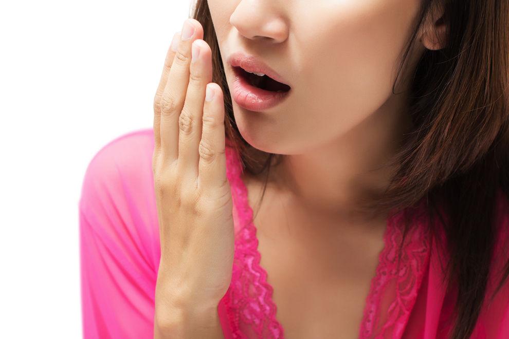 Nie wieder Mundgeruch