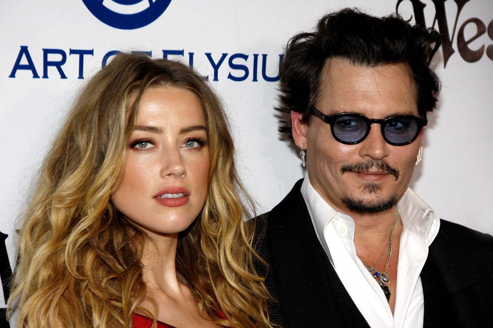 Johnny Depp ließ Amber-Liebes-Tattoo ändern