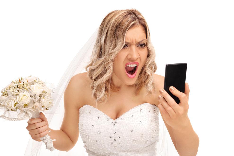 Bräutigam vergaß seine Braut am Parkplatz