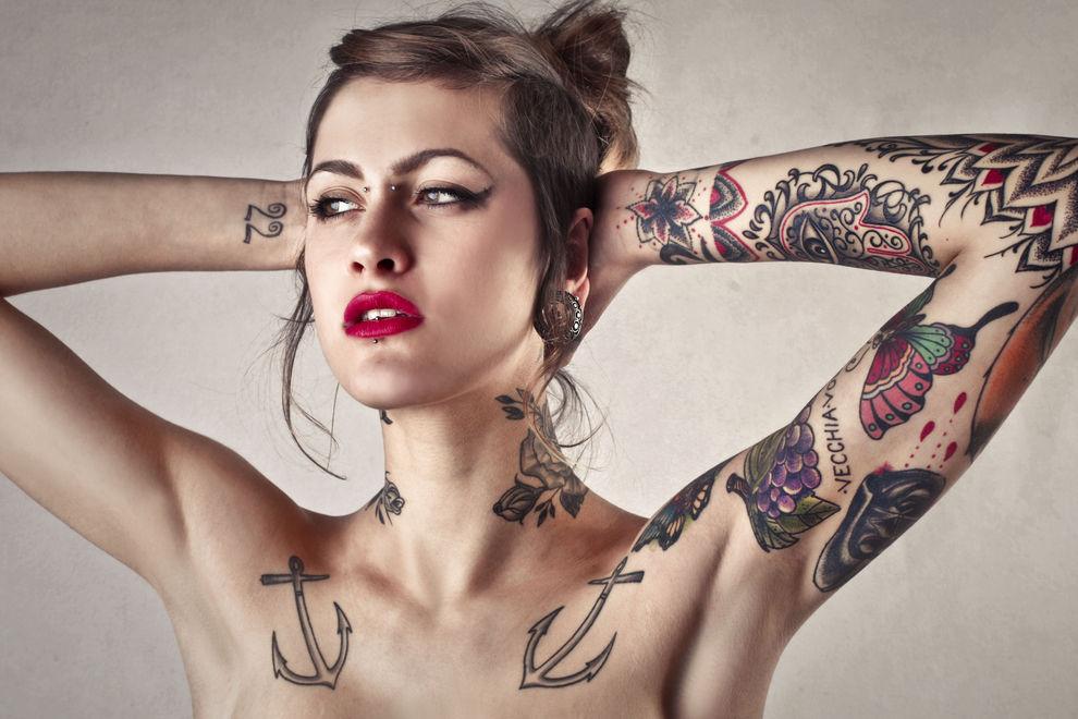 Die 10 meist entfernten Tattoos der Welt