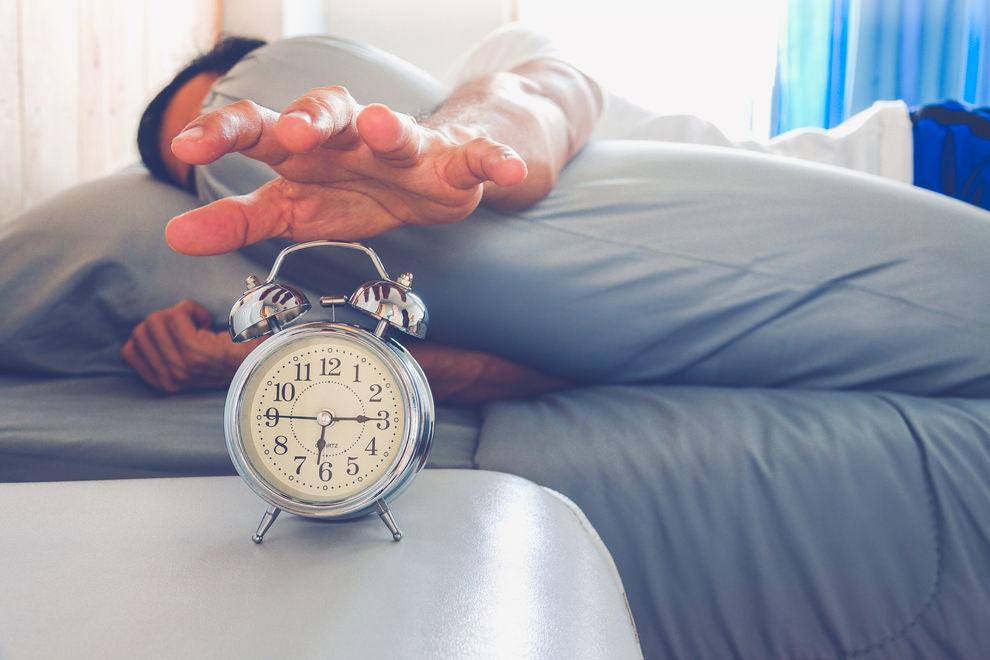 Das ist die perfekte Zeit, um einzuschlafen