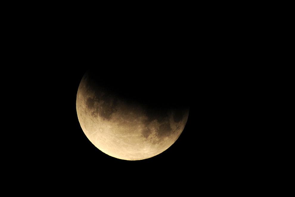 Heute gibt es eine Mini-Mondfinsternis