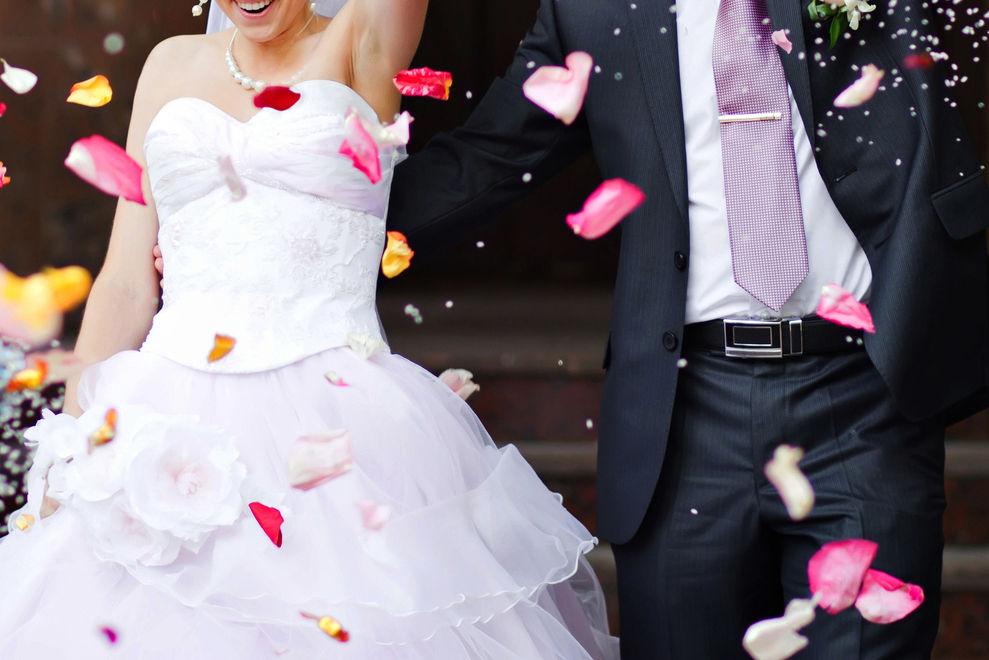 Diese Braut weigerte sich, an ihrem Hochzeitstag Make Up zu tragen