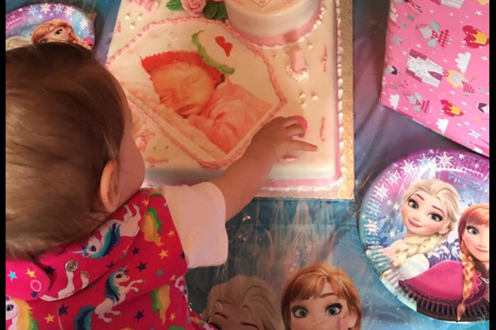 So feierte Sophia ihren ersten Geburtstag