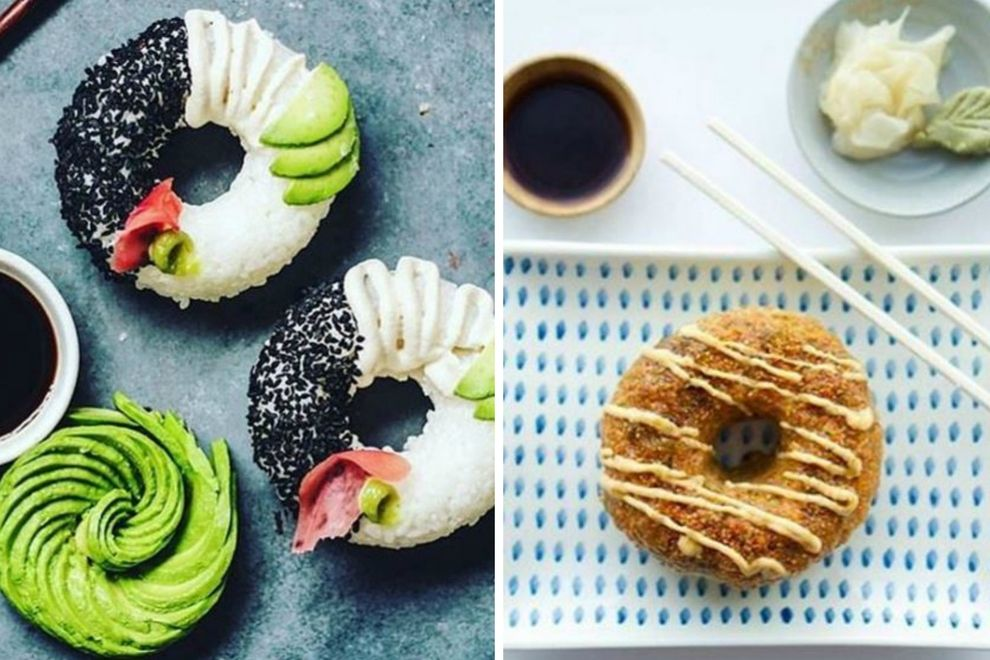 Donut + Sushi = …? Der krasseste Food-Porn EVER!
