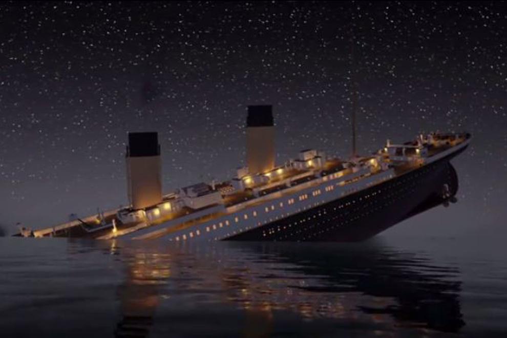 So ist die Titanic wirklich gesunken