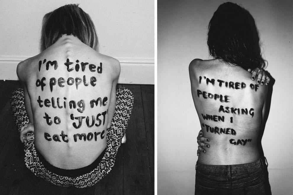 Foto-Projekt zeigt, was junge Menschen satt haben