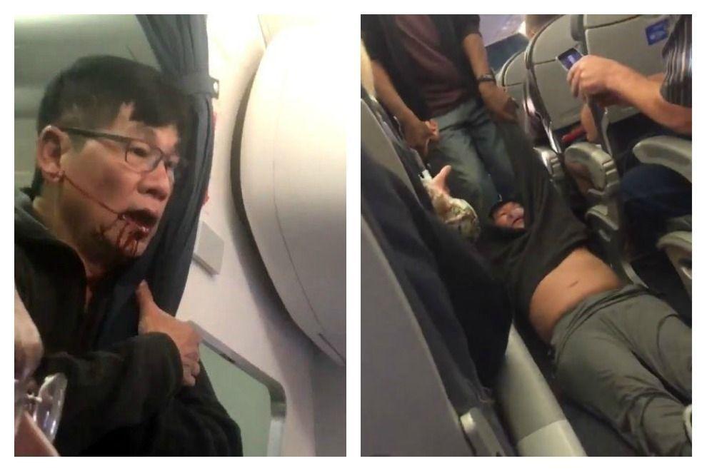 Das sagt der Passagier, der brutal aus einem Flugzeug gezerrt wurde