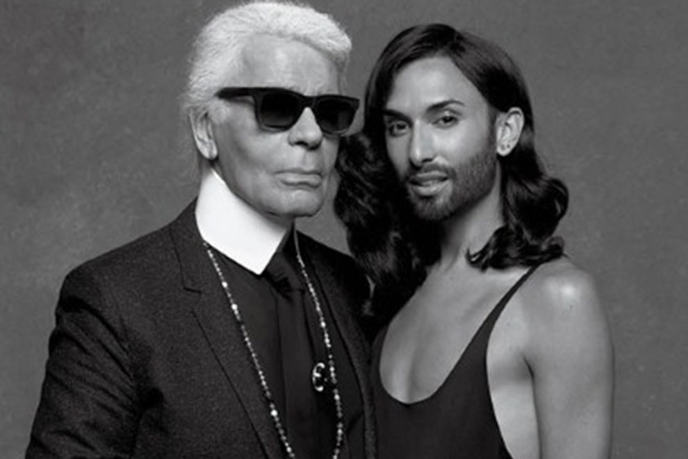 Conchita Wurst goes High-Fashion