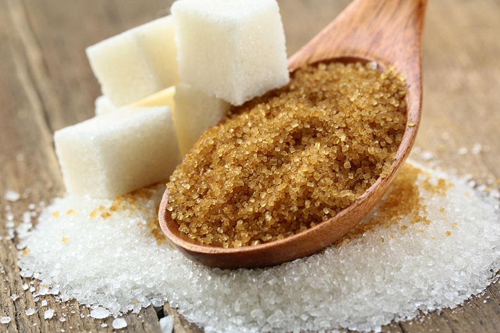 Brauner Zucker nicht gesünder als weißer