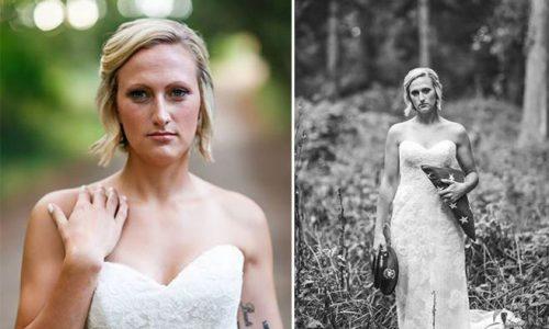 Braut sagt Hochzeitsshooting nicht ab, nachdem ihr Verlobter umgebracht wurde