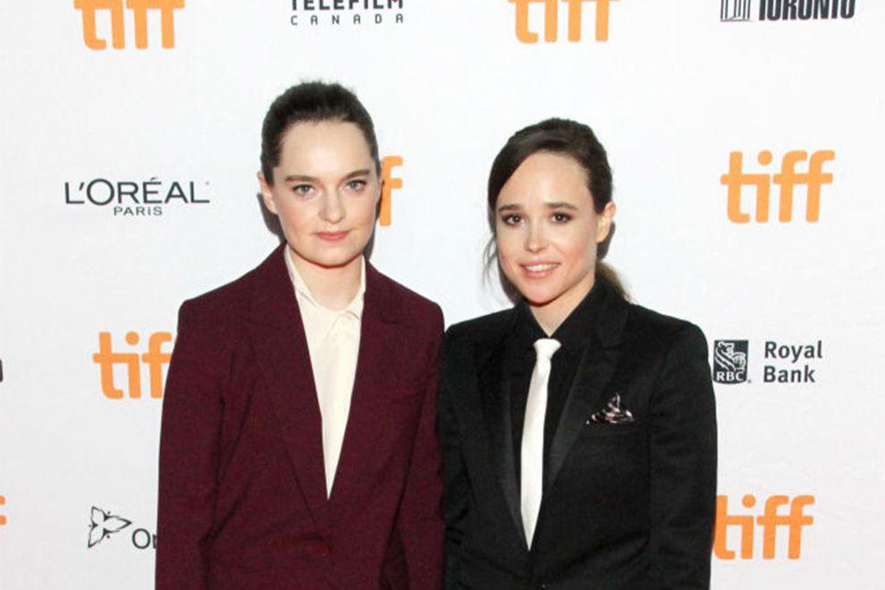 Ellen Page hat ihre Freundin geheiratet