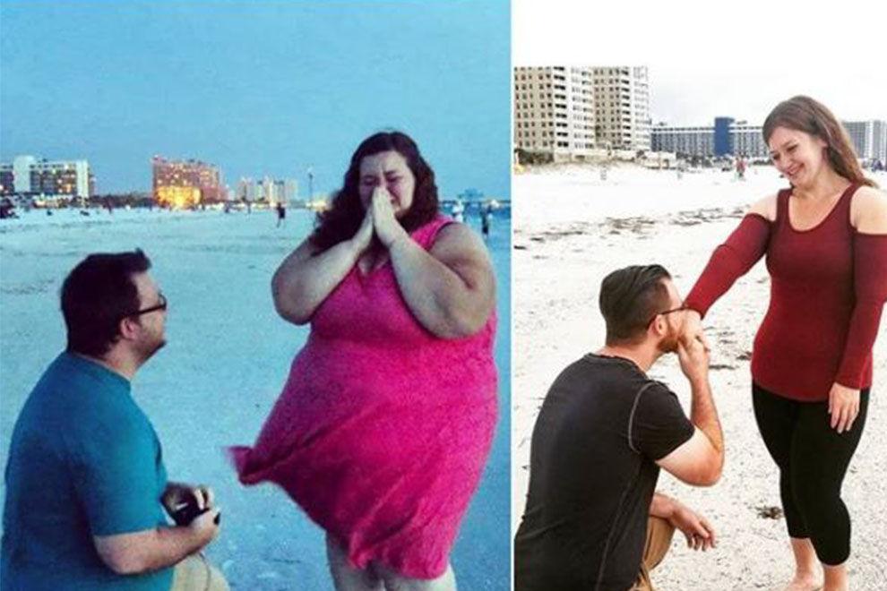 Dieses Paar hat gemeinsam 180 Kilo abgenommen