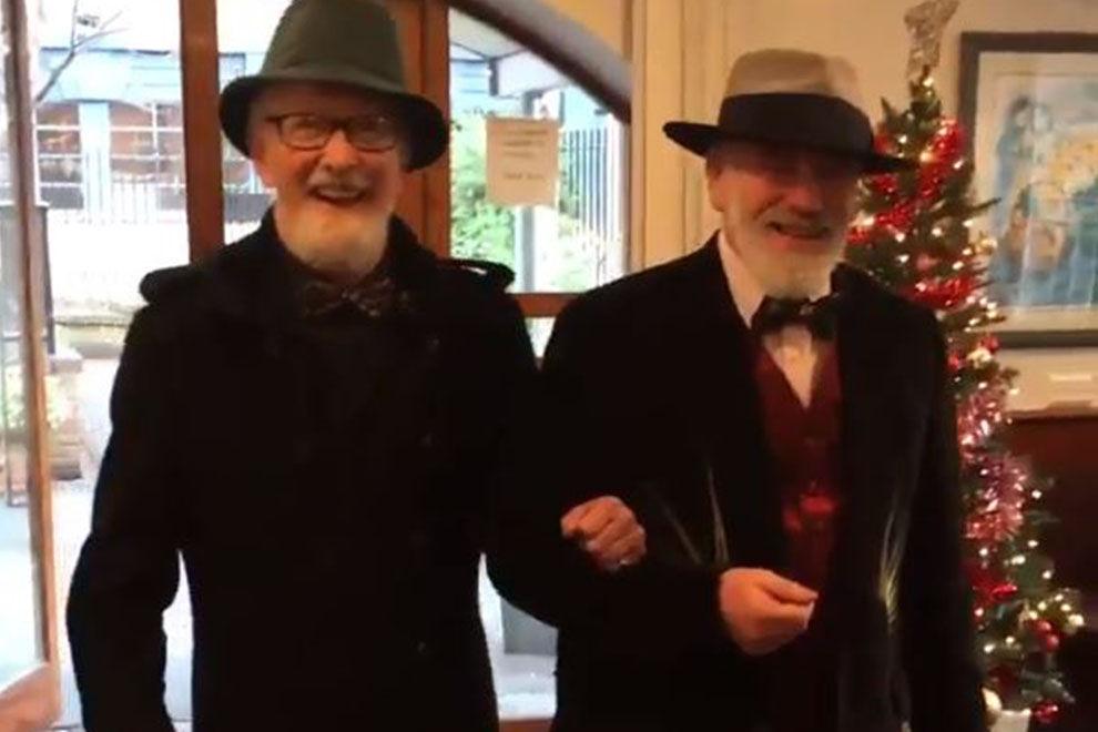In Irland haben zwei heterosexuelle Männer einander geheiratet