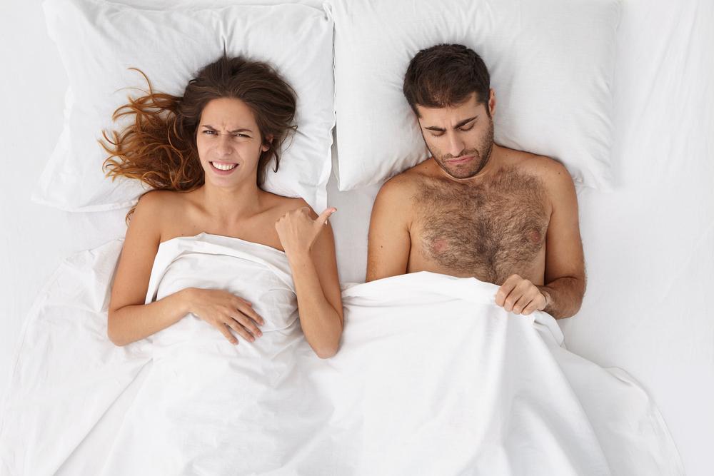 Diese 5 Dinge finden Frauen im Bett ekelhaft