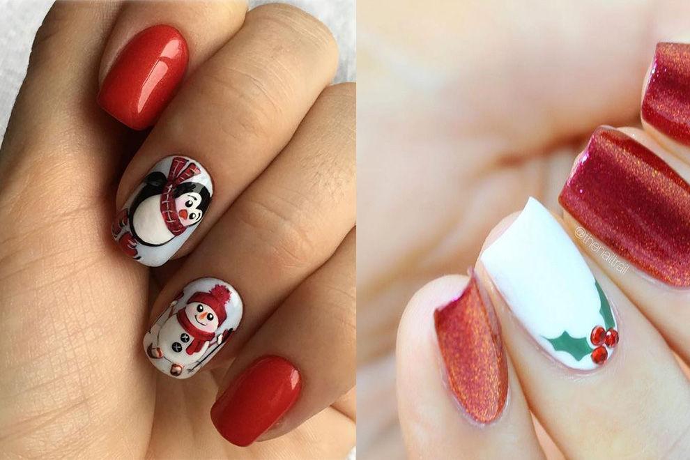 Die süßesten Nail-Designs für die Weihnachtszeit
