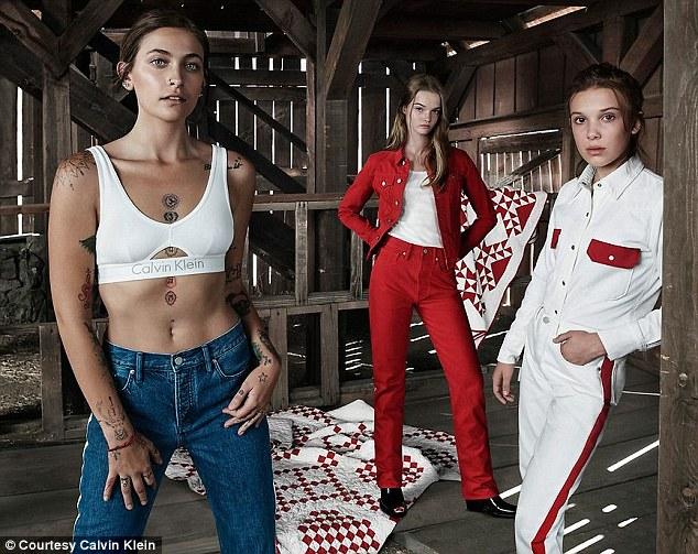 Paris Jackson: In neuer Calvin Klein-Kampagne zeigt sie ihre Tattoos