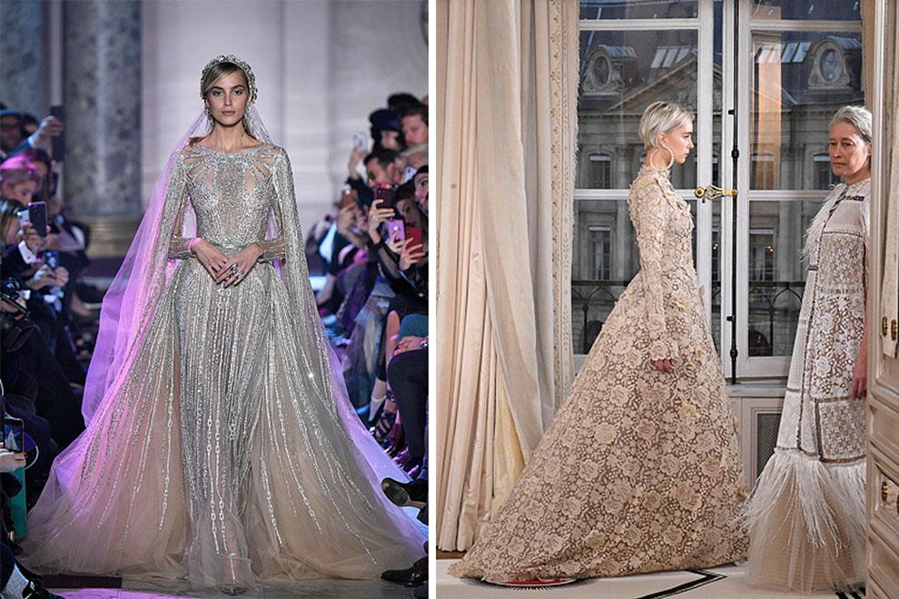 neuesten Stil von 2019 heiße Produkte kauf verkauf Die exklusivsten Haute Couture Hochzeitskleider