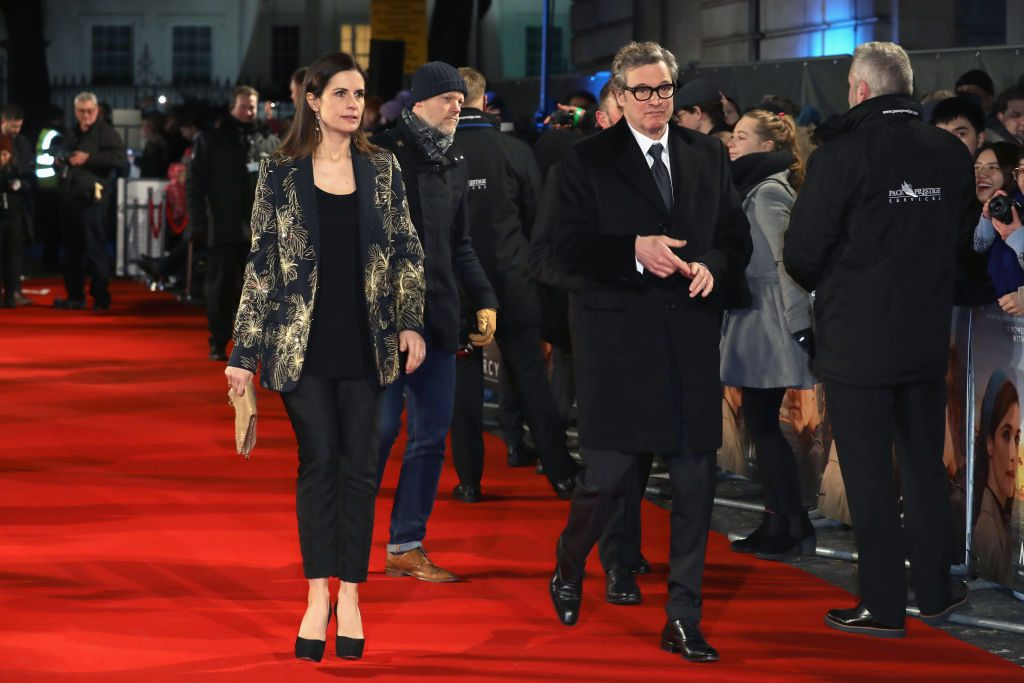 Frau von Colin Firth hatte Affäre mit ihrem Stalker Marco Brancaccia