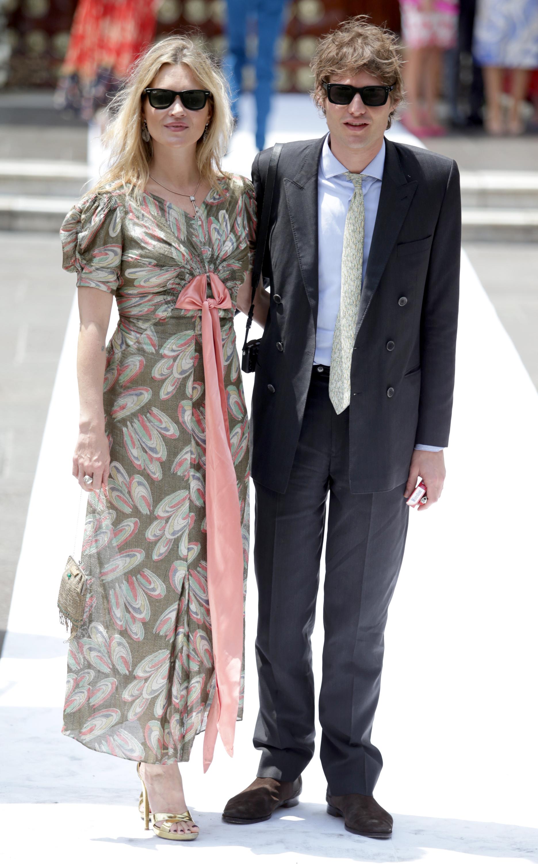 Kate Moss auf der royalen Hochzeit