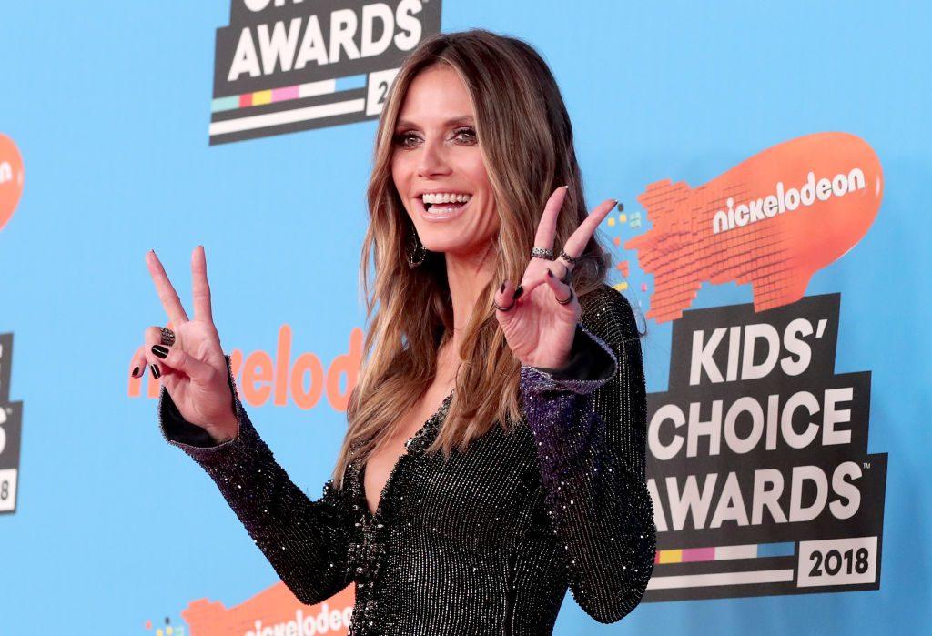 Kids' Choice Awards: Volle Schleim-Ladung für Heidi Klum