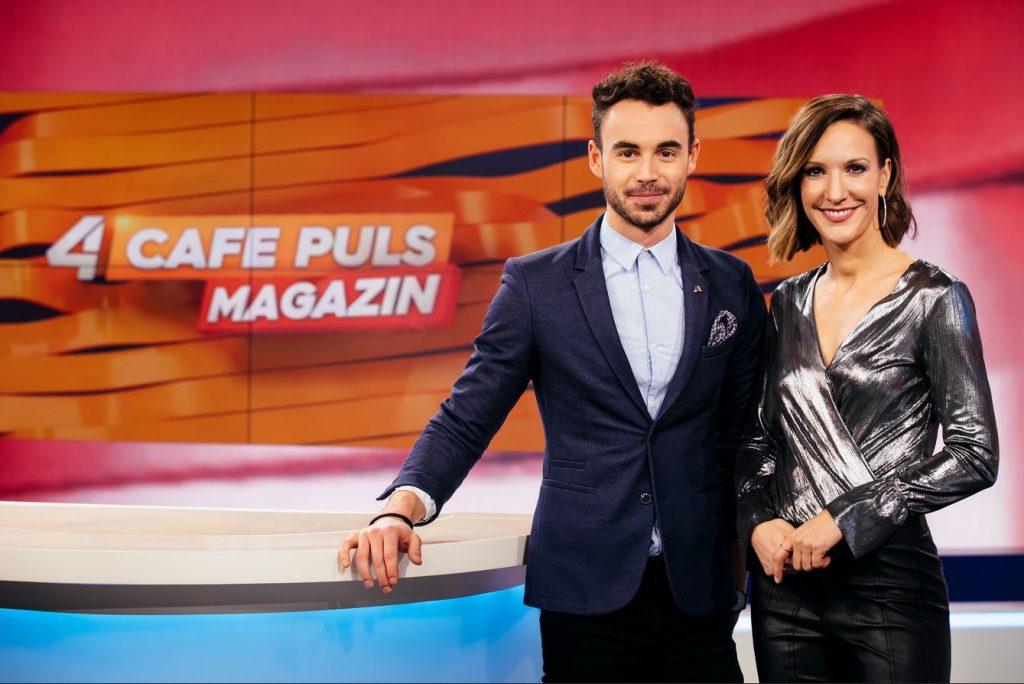"""""""Lässige Information"""": CAFÉ PULS – Das Magazin startet auf Puls 4"""
