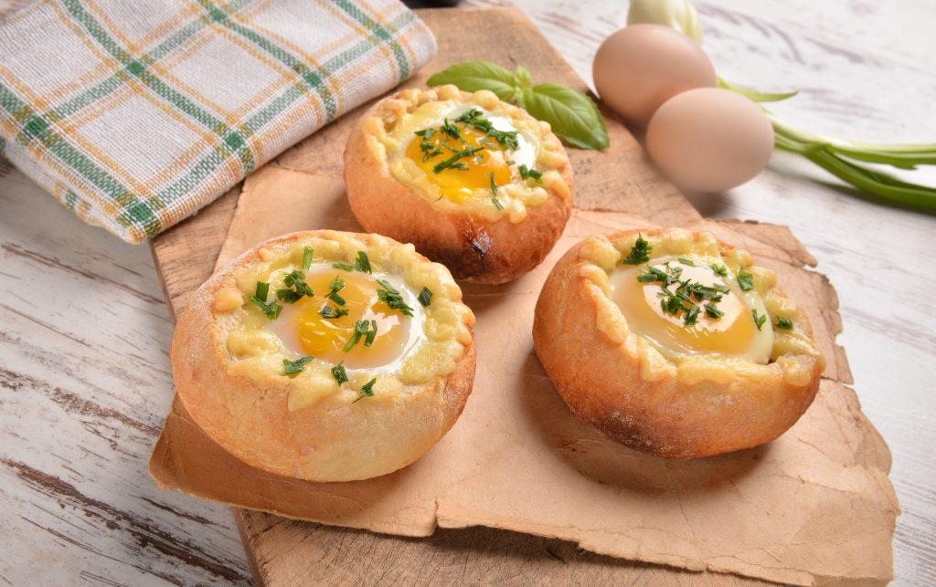 Oster CookBook: Eier-Brötchen