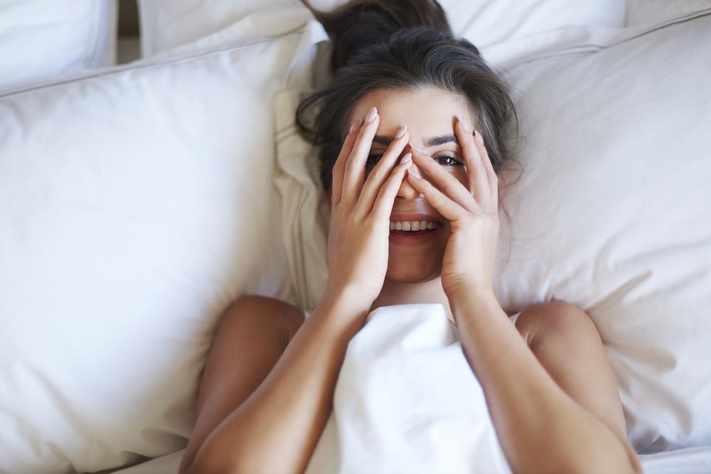 Auch Frauen haben eine Morgenlatte