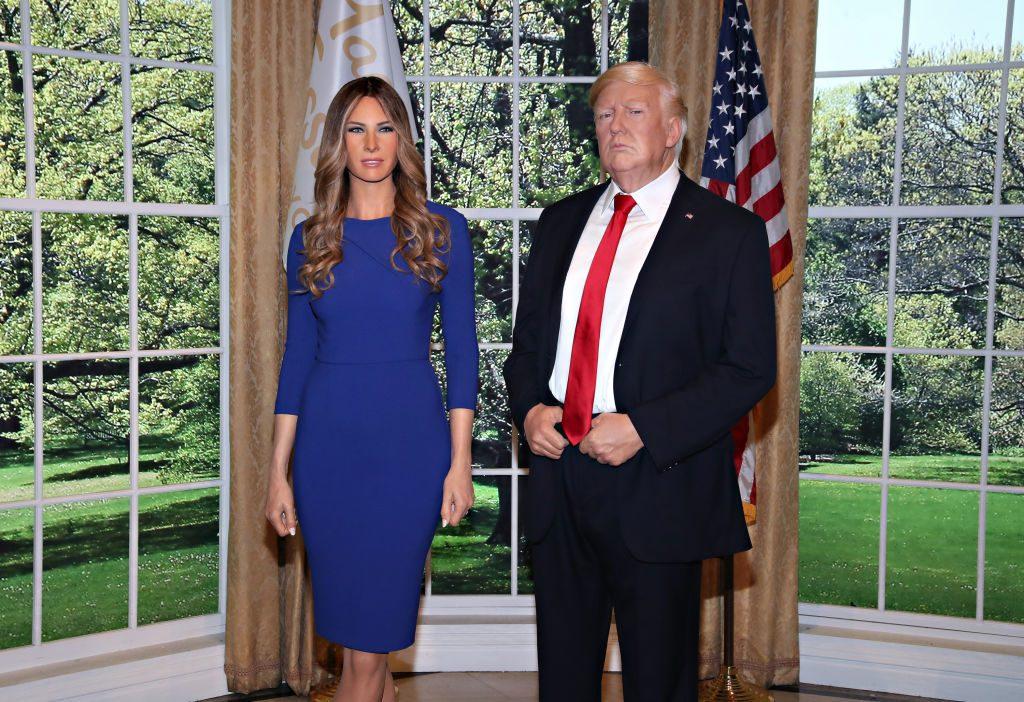 Melania Trump gibt es jetzt als Madame Tussauds-Wachsfigur