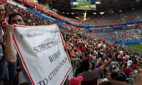 Deshalb demonstrieren iranische Frauen bei der WM
