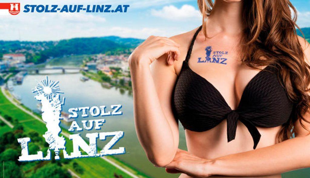 Bikini-Plakat der FPÖ sorgt für Aufregung