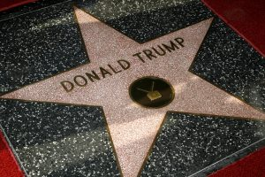 Donald Trump-Stern am Walk of Fame