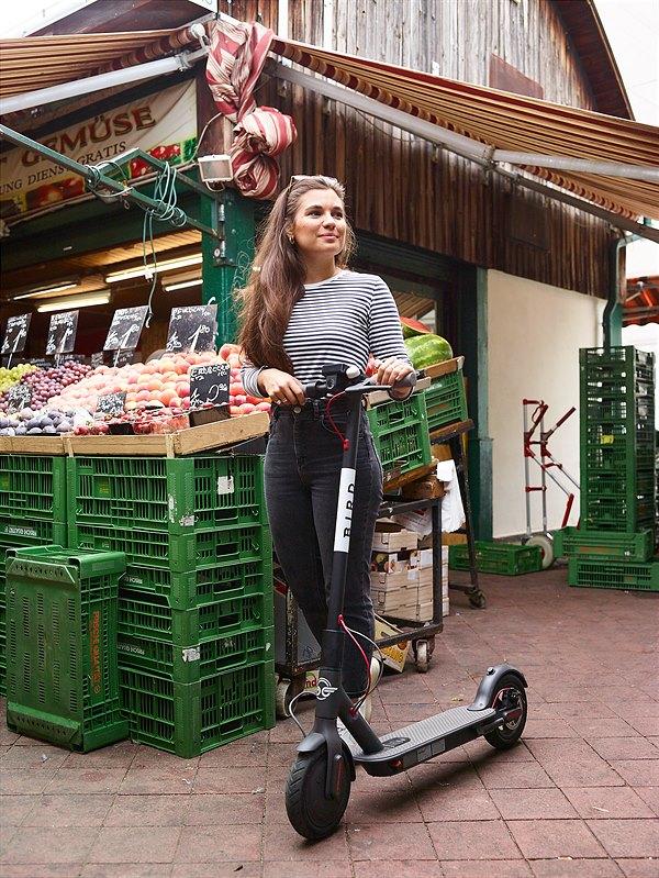 "E-Scooter Sharing ""Bird"" startet morgen in Wien"