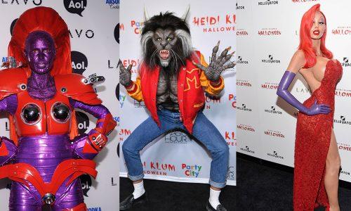 Heidi Klums Halloween-Kostüme der letzten 10 Jahre