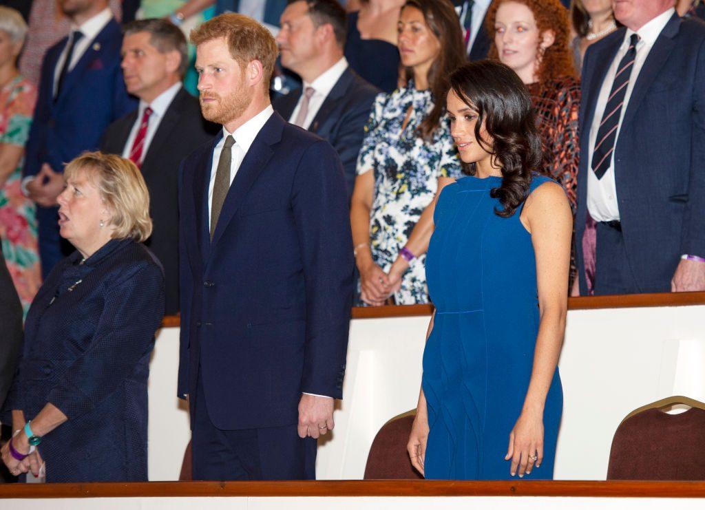 Herzogin Meghan: Ist das etwa ein Schwangerschaftsbauch?