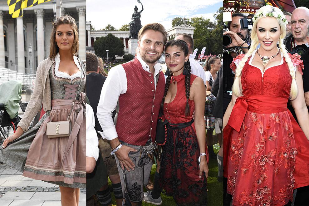 Oktoberfest 2018: Die schönsten Dirndl der Promi-Frauen