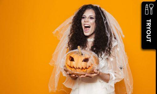 3 schnelle DIY-Halloween-MakeUps